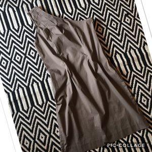 Gap Light brown one shoulder dress